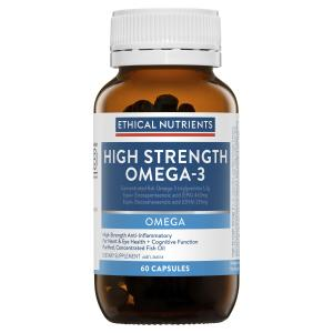 Ethical Nutrients OMEGA Hi Strength Omega 3 60 Capsules
