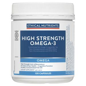Ethical Nutrients OMEGA High Strength Omega-3 120 Capsules
