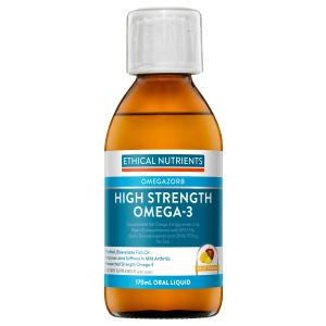 Ethical Nutrients OMEGA High Strength Omega-3 Fruit Punch 170mL