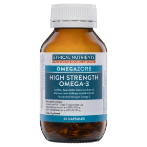 Ethical Nutrients OMEGAZORB High Strength Omega 3 60 Capsules